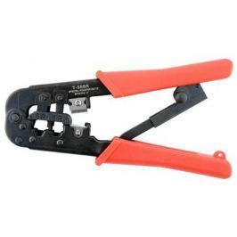 Инструмент Gembird T-568R обжимной универсальный с фиксатором для витой пары и телефонного кабеля