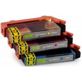 Комплект картриджей Cactus СS-CD972/3/4 №920XL СS-CD972/3/4 для HP Officejet 6000/6500/7000/7500 цветной