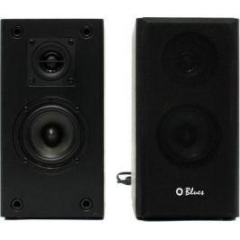 Колонки Dialog Blues AB-41B 2x5Вт RMS черный Bluetooth USB SD reader