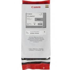 Струйный картридж Canon PFI-206 PGY фото серый для iPF6400/6450