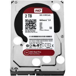 "Жесткий диск 3.5"" 2 Tb 7200rpm 64Mb cache Western Digital Red Pro SATAIII WD2002FFSX"