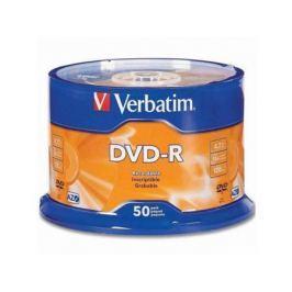 Диски DVD-R Verbatim 16x 4.7Gb Data Life 50шт 43791