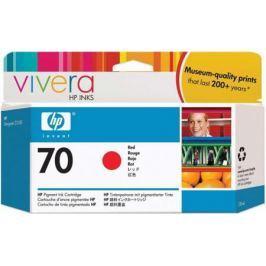 Струйный картридж HP C9456A №70 красный для HP DJ Z2100/Z3100