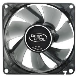 Вентилятор Deepcool WIND BLADE 80 80x80x25 3pin 20dB 1800rpm 60g голубой LED DP-FLED-WB80