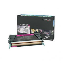 Тонер картридж Lexmark C736H1MG пурпурный для C73X/X73X (10 000 стр)