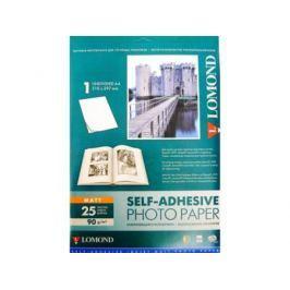 Фотобумага Lomond А4 90г/кв.м матовая смоклейящаяся для струйной печати 25л 2210003