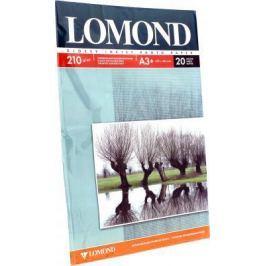 Бумага Lomond A3+ 210г/кв.м двусторонняя глянцевая/матова 20л 0102027
