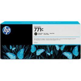 Струйный картридж HP B6Y07A №771С черный матовый для HP Designjet Z6200