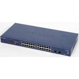 Коммутатор NETGEAR GS724T-400EUS управляемый 24 порта 10/100/1000T/SFP