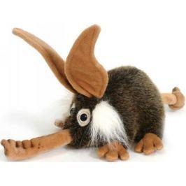 Мягкая игрушка Hansa Троль с носом искусственный мех коричневый 26 см 2768