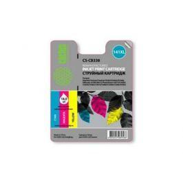 Картридж Cactus CS-CB338 №141XL для HP DeskJet D4263/D4363/D5360/ OfficeJet J5783/J6413 трехцветный