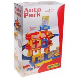 Паркинг Wader 3-уровневый с автомобилями 37893
