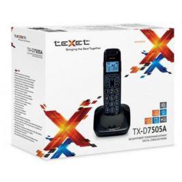 Радиотелефон DECT Texet TX-D7505A черный