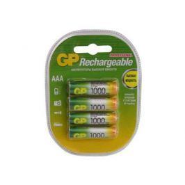 Аккумулятор 1000 мАч GP 100AAAHC-2DECRC4 AAA 4 шт