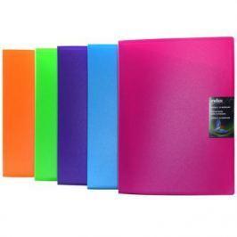 Папка с 30 файлами COLOURPLAY, ф.A4, 0,8мм, прозрачная, ассорти ICPD/ASS