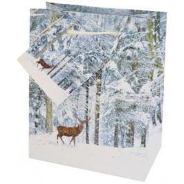 Пакет подарочный Winter Wings N13133 11.1x13.7x6.2 cм