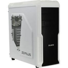 Корпус ATX Zalman Z3 Plus Без БП белый