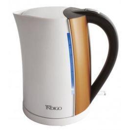 Чайник Scarlett IS-EK20P01 2200 белый коричневый 1.7 л металл/пластик