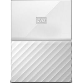 "Внешний жесткий диск 2.5"" USB3.0 3 Tb Western Digital My Passport WDBUAX0030BWT-EEUE белый"