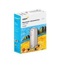 Масляный радиатор Unit UOR-940 2000 Вт белый