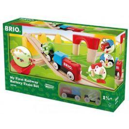 Набор Brio «Моя первая железная дорога с поездом на батарейках»