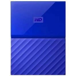 "Внешний жесткий диск 2.5"" USB3.0 4 Tb Western Digital My Passport WDBUAX0040BBL-EEUE синий"