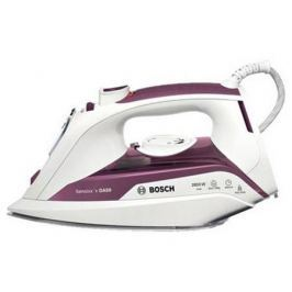 Утюг Bosch TDA 5028110 2800Вт пар.удар 180 г/мин бело-фиолетовый