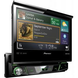 "Автомагнитола Pioneer AVH-X7800BT 7"" 800x480 USB MP3 CD DVD FM RDS 1DIN 4x50Вт черный"