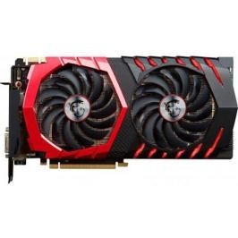 Видеокарта 8192Mb MSI GeForce GTX 1080 GAMING 8G PCI-E 256bit GDDR5X DVI HDMI DP HDCP Retail