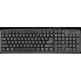 Клавиатура проводная DEFENDER HB-420 RU USB черный 45420