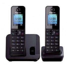 Радиотелефон DECT Panasonic KX-TGH212RUB дополнительная трубка KX-TGHA20 черный