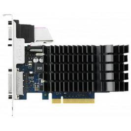 Видеокарта 2048Mb ASUS GeForce GT730 с CUDA PCI-E 64bit GDDR5 DVI HDCP HDMI GT730-SL-2GD5-BRK Retail