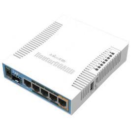 Беcпроводной маршрутизатор MikroTik hAP AC 802.11ac 2.4ГГц и 5ГГЦ 4xGLAN PoE RB962UiGS-5HacT2HnT
