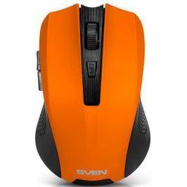 Мышь беспроводная Crown SVEN RX-345 оранжевый USB