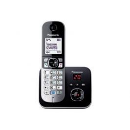 Радиотелефон DECT Panasonic KX-TG6821RUM серый металлик