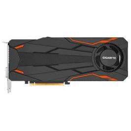 Видеокарта 8192Mb Gigabyte GeForce GTX1080 PCI-E 256bit GDDR5X DVI HDMI DP HDCP GV-N1080TTOC-8GD Retail