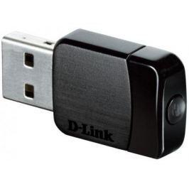 Беспроводной USB адаптер D-LINK DWA-171/RU/A1B 802.11ac 433Mbps 2.4ГГц или 5ГГц 19dBm