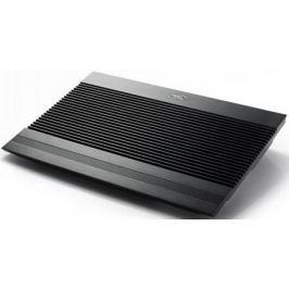 """Подставка для ноутбука 17"""" Deepcool N8 Ultra 410x275x64mm 4xUSB 1360g 26.5dB черный"""