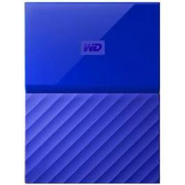 "Внешний жесткий диск 2.5"" USB3.0 3 Tb Western Digital My Passport WDBUAX0030BBL-EEUE синий"
