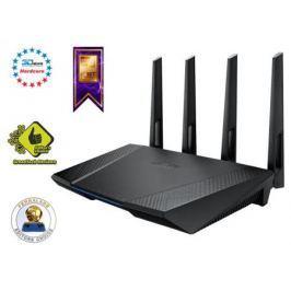 Беспроводной маршрутизатор ASUS RT-AC87U 802.11acbgn 2334Mbps 5 ГГц 2.4 ГГц 4xLAN USB3.0 черный