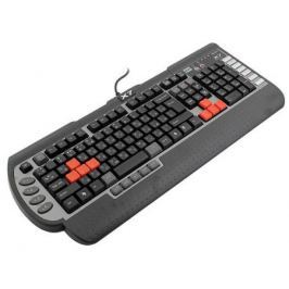 Клавиатура проводная A4TECH X7-G800V USB черный