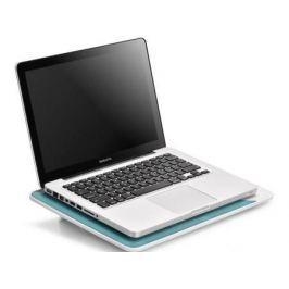 """Подставка для ноутбука 17"""" Deepcool N2 WHITE 380x260x26mm USB 640g 20dB бело-синий"""