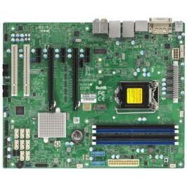Мат. плата для ПК Supermicro MBD-X11SAE-O Socket 1151 C236 4xDDR4 2xPCI-E 16x 2xPCI 1xPCI-E 1x 8xSATAIII ATX