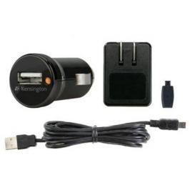 Автомобильное зарядное устройство Kensington K38057EU USB черный