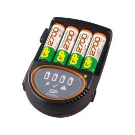 Зарядное устройство + аккумуляторы GP PB50 2700 mAh AA 4 шт РВ50GS270CA-2CR4