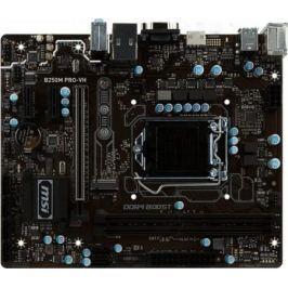 Материнская плата MSI B250M PRO-VH Socket 1151 B250 2xDDR4 1xPCI-E 16x 2xPCI-E 1x 6 mATX Retail