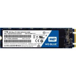 Твердотельный накопитель SSD M.2 1Tb Western Digital Blue Read 545Mb/s Write 525Mb/s SATAIII WDS100T1B0B