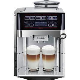 Кофемашина Bosch TES60729RW черный серебристый