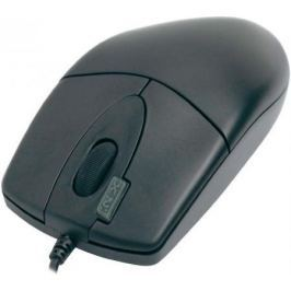Мышь проводная A4TECH OP-620D чёрный USB 85694