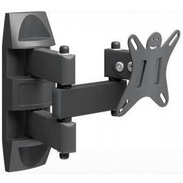 "Кронштейн Holder LCDS-5039 металлик для ТВ 10-26"" +15° поворот 350° (до 25кг) LCDS-5039 METALLIC"